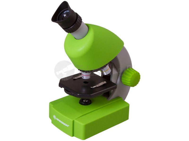 Купить микроскоп bresser junior 40x 640x зеленый u2014 цены отзывы